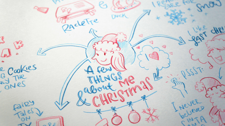 Christmas Sketchnotes