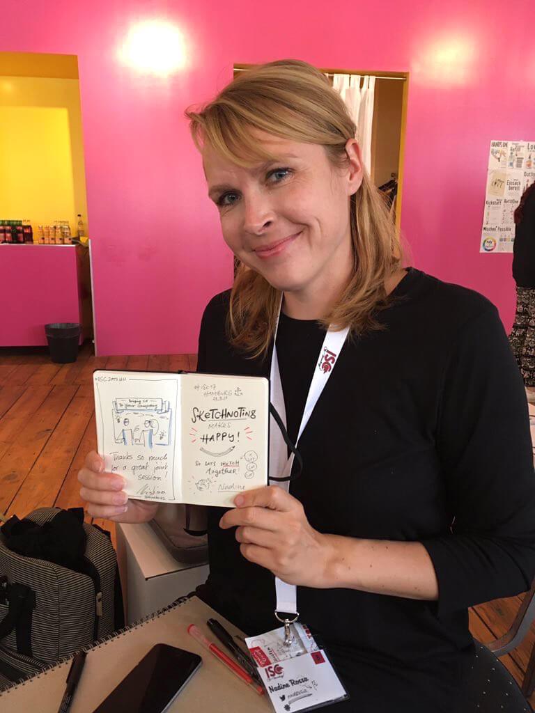 Sketchnote Book Nadine Roßa