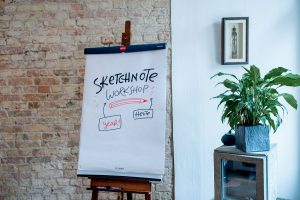 Sketchnote Workshop Berlin Oktober 2017