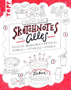 Sketchnotes Buch Cover Idee