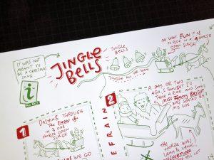 Sketchnotes Christmas Song Jingle Bells