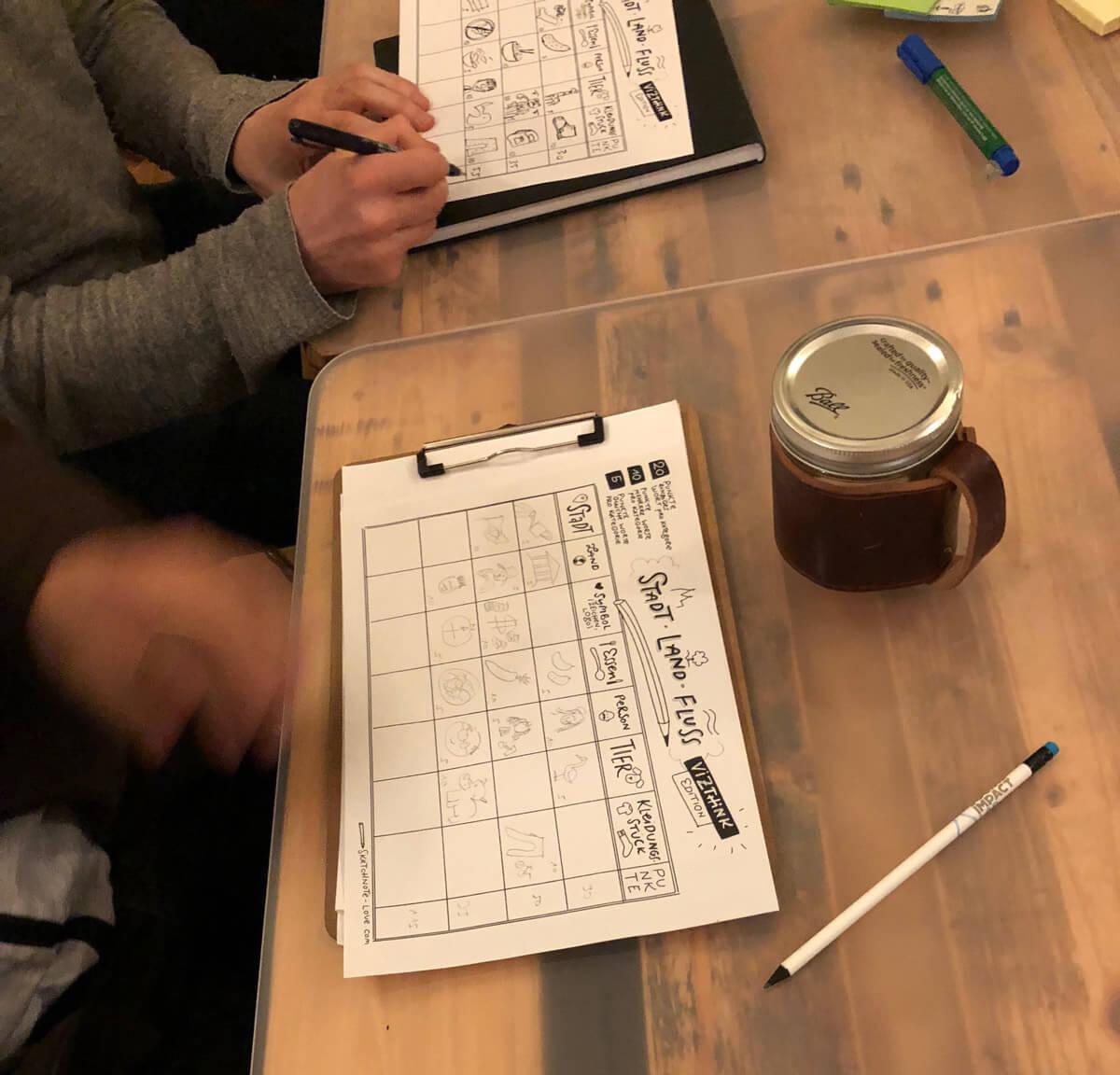 Sketchnotes Visual Games