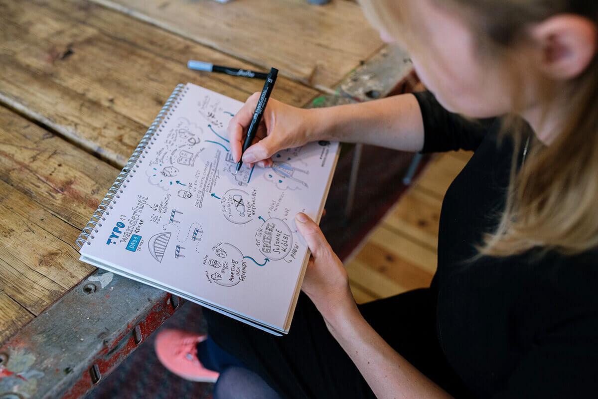 Sketchnotes Nadine Roßa
