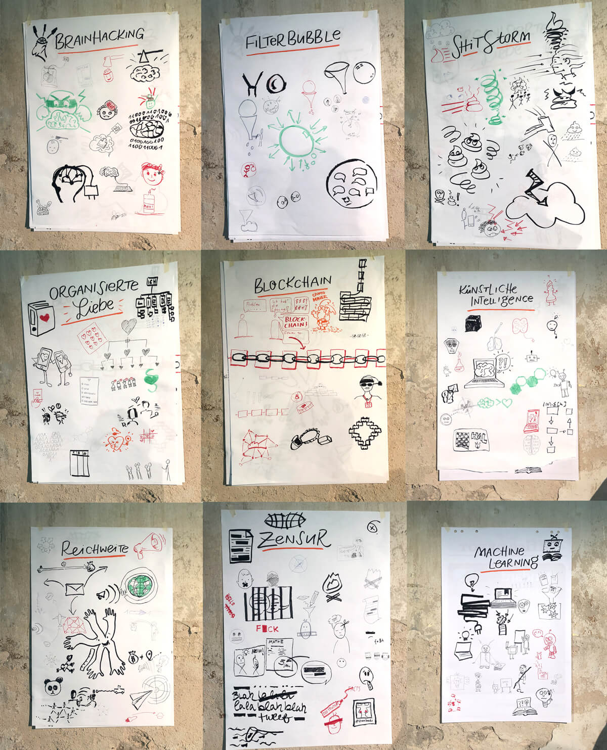 Sketchnotes Republica 2018 Zirkeltraining