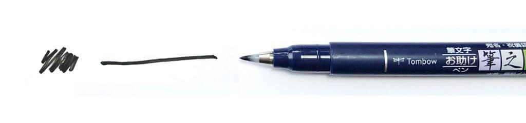 Sketchnotes Stifte Tombow Fudenosuke