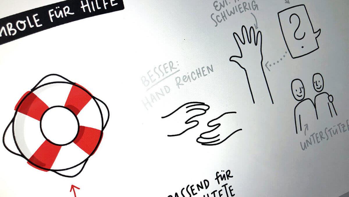 Sketchnotes und schwierige Bildmetaphern