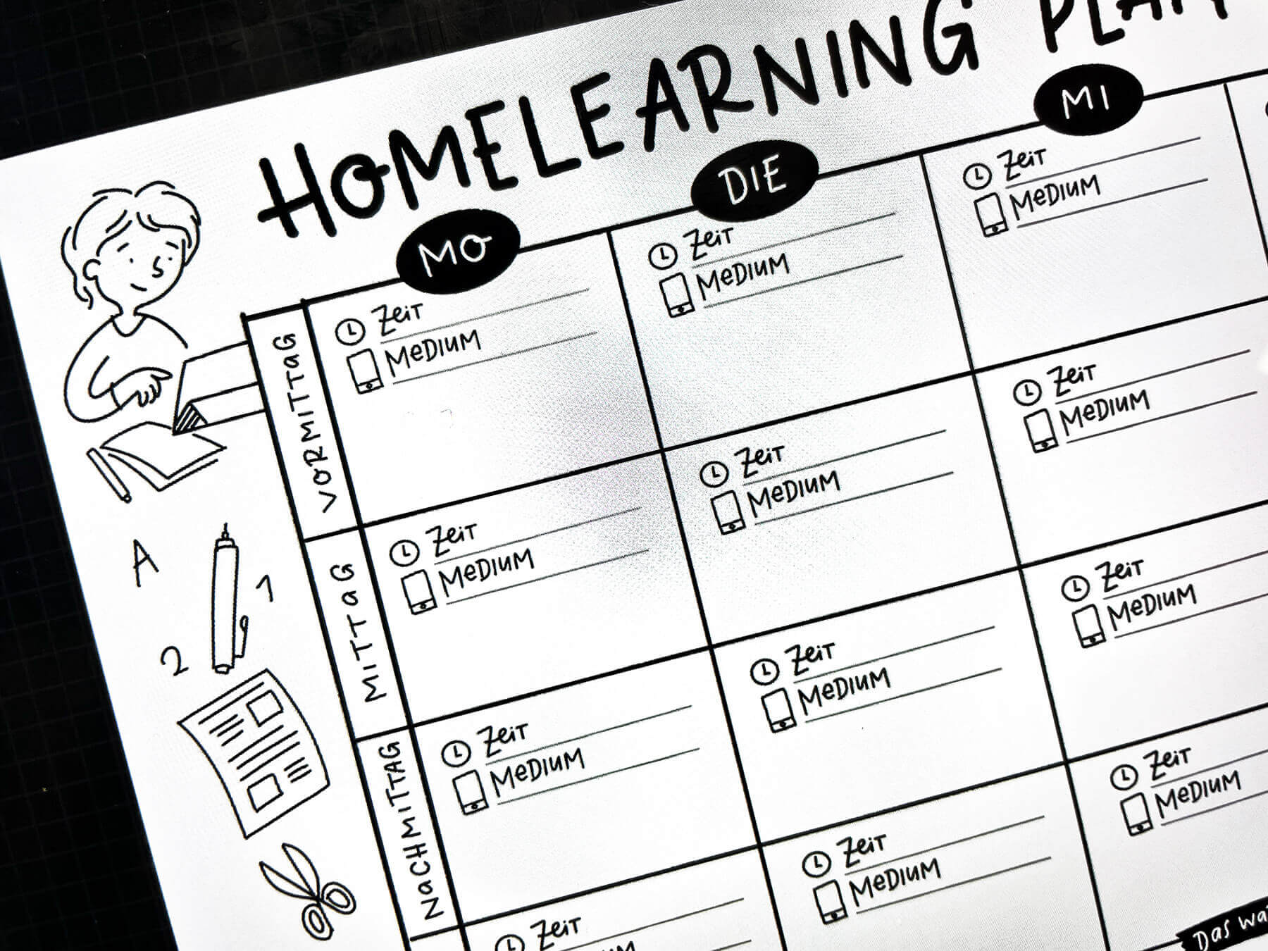 Homeschooling Plan