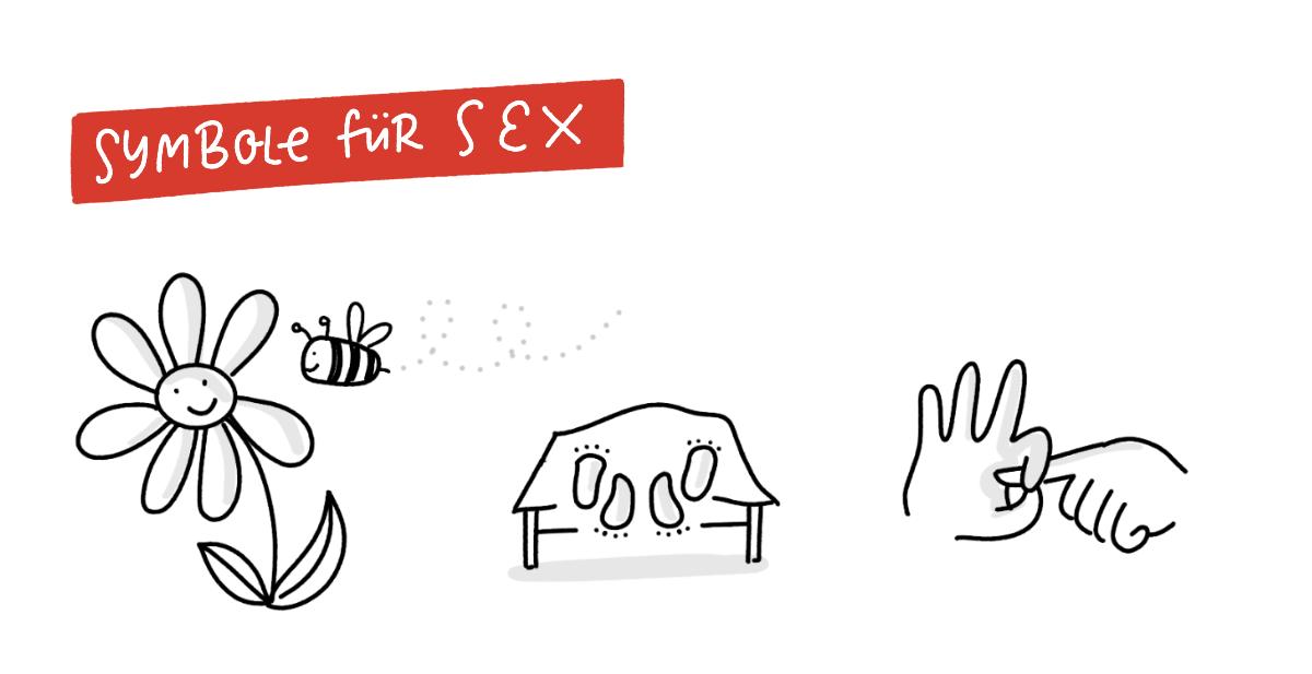 Schwierige Symbole zeichnen – Symbole für Sex
