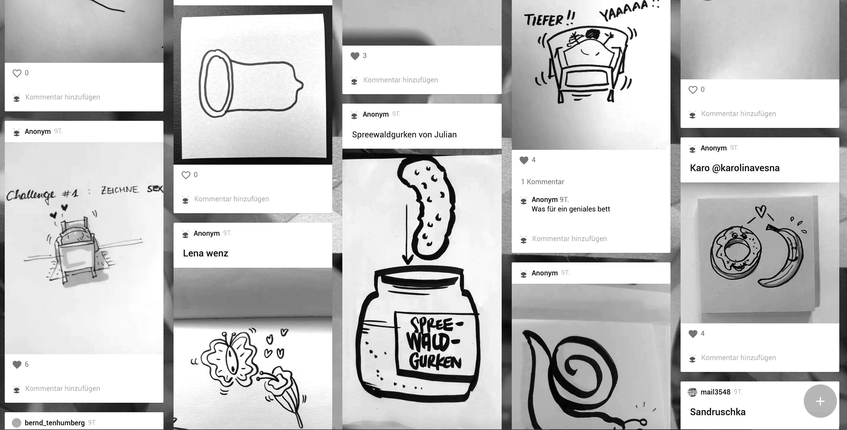 Schwierige Symbole zeichnen