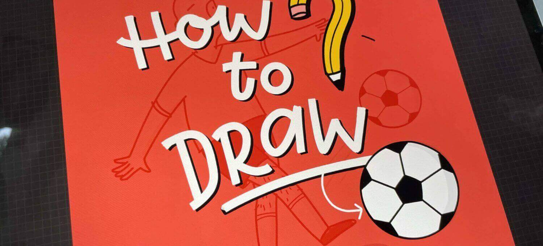 Einen einfachen Fußball zeichnen
