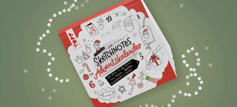 Sketchnotes Adventskalender Weihnachten